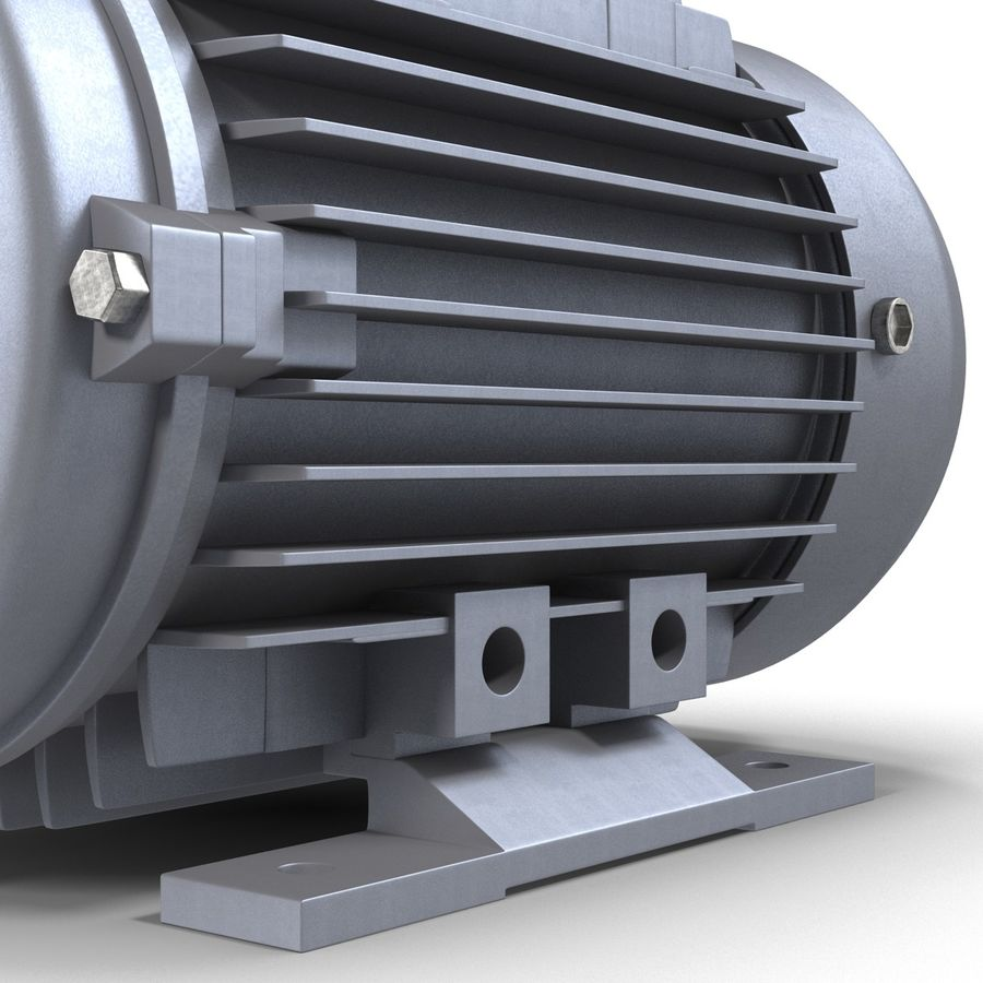 Electric Motor royalty-free 3d model - Preview no. 16