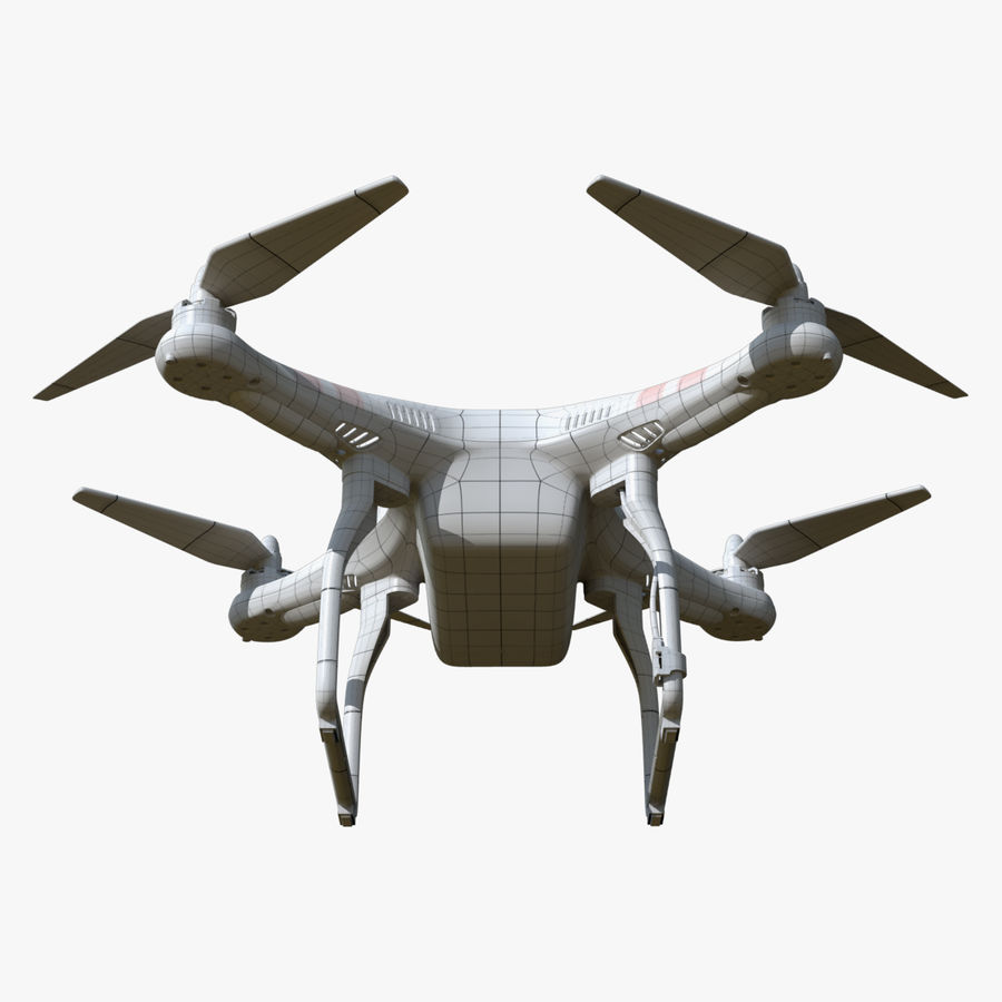 DJI Phantom 2 Drone royalty-free modelo 3d - Preview no. 10