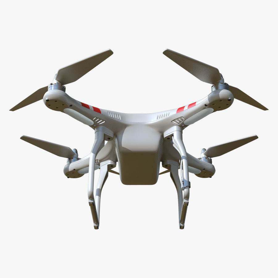 DJI Phantom 2 Drone royalty-free modelo 3d - Preview no. 8