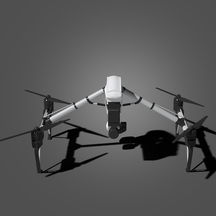 Quadrocopter royalty-free 3d model - Preview no. 5