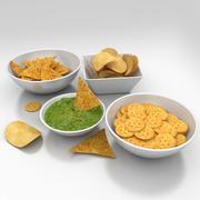 Snack food 3d 3d model