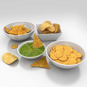 Snack Food 3d modelo 3d