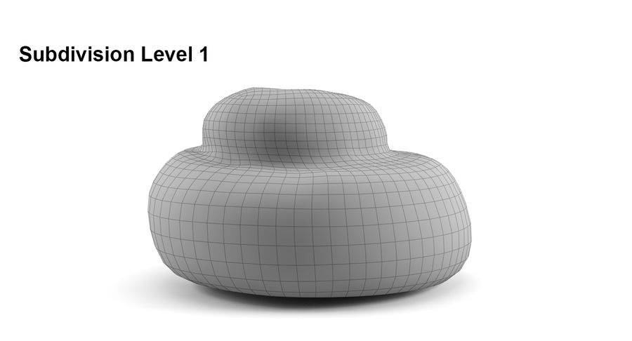 Cinnamon Roll royalty-free 3d model - Preview no. 7