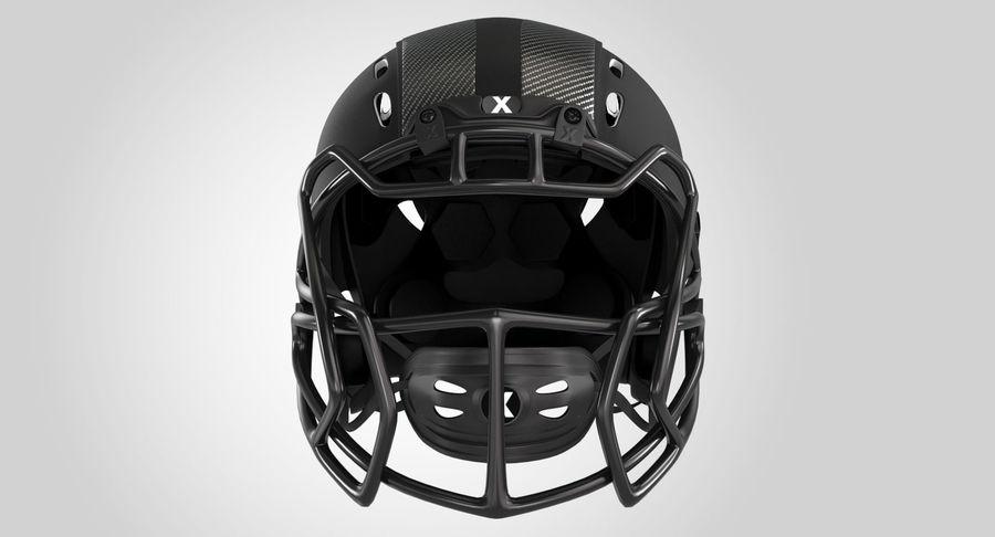 Kask piłkarski Xenith Epic royalty-free 3d model - Preview no. 2