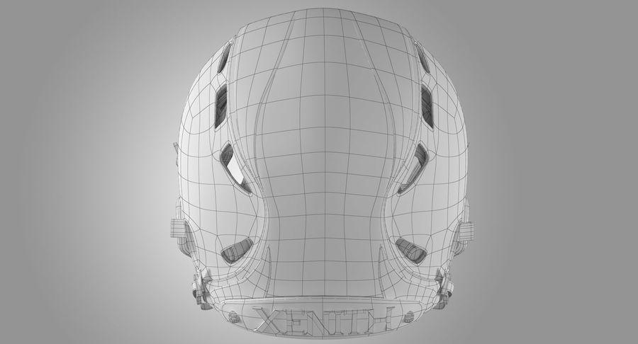 Kask piłkarski Xenith Epic royalty-free 3d model - Preview no. 14
