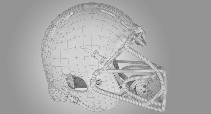 Kask piłkarski Xenith Epic royalty-free 3d model - Preview no. 13