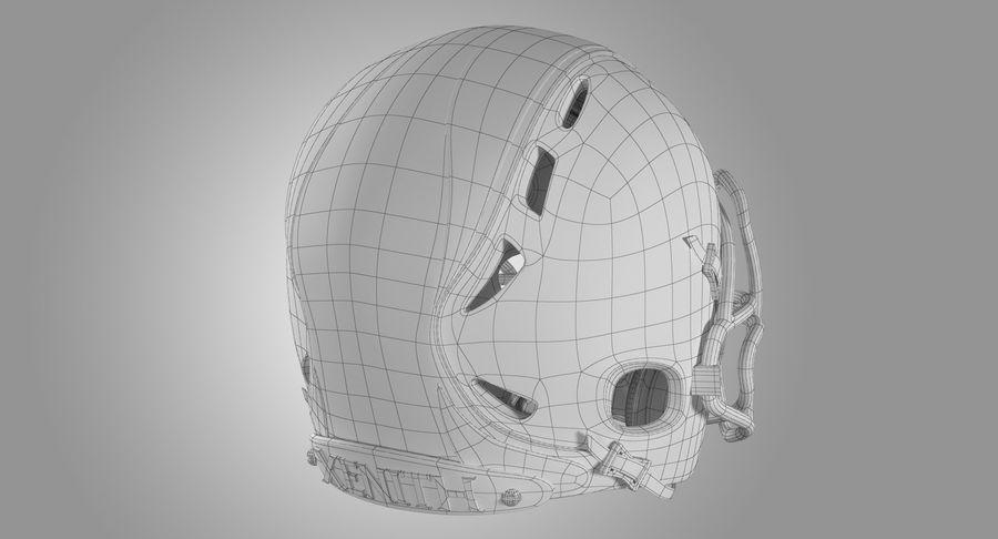 Kask piłkarski Xenith Epic royalty-free 3d model - Preview no. 16
