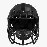 Kask piłkarski Xenith Epic 3d model
