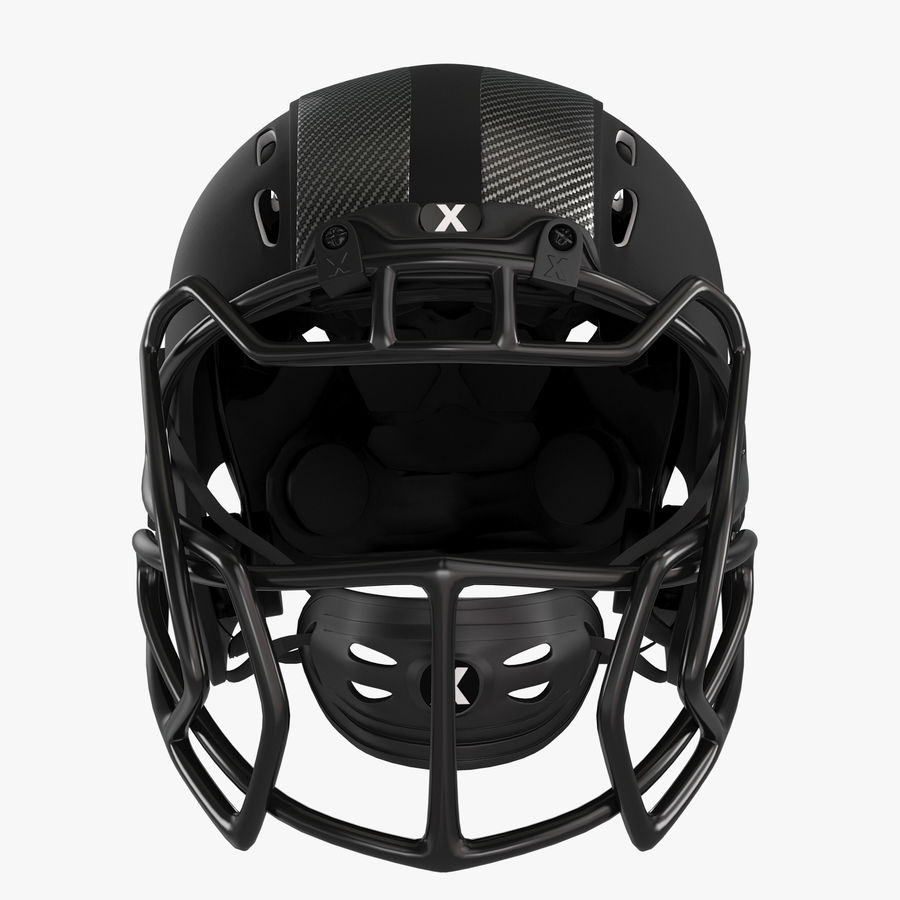 Kask piłkarski Xenith Epic royalty-free 3d model - Preview no. 1