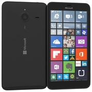 Microsoft Lumia 640 XL Dual SIM Black 3d model