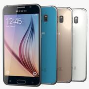 Samsung Galaxy S6 - Alle kleuren 3d model