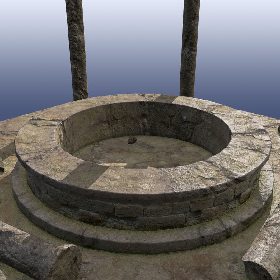Ancient Ruin royalty-free 3d model - Preview no. 5