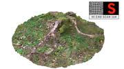 Souche d'arbre 3d model