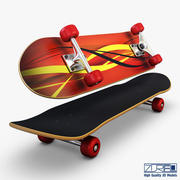 Skateboard v 1 3d model