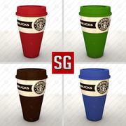 Starbucks Coffe Mug 3d model