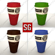 Starbucks Coffe Mug 3d model