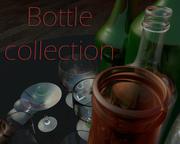 Коллекция бутылок 3d model