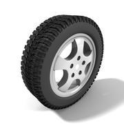Зимняя / внедорожная шина повышенной проходимости 3d model
