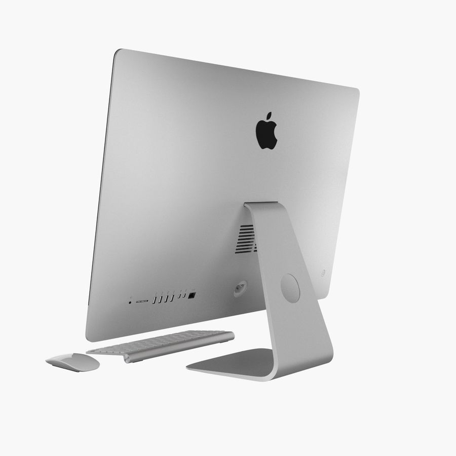 Apple iMac 27 royalty-free 3d model - Preview no. 7