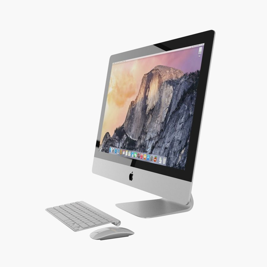Apple iMac 27 royalty-free 3d model - Preview no. 8