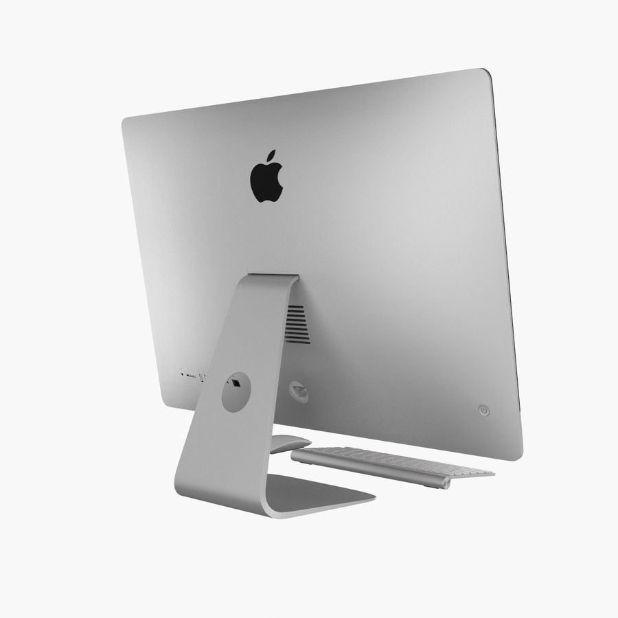Apple iMac 27 royalty-free 3d model - Preview no. 5