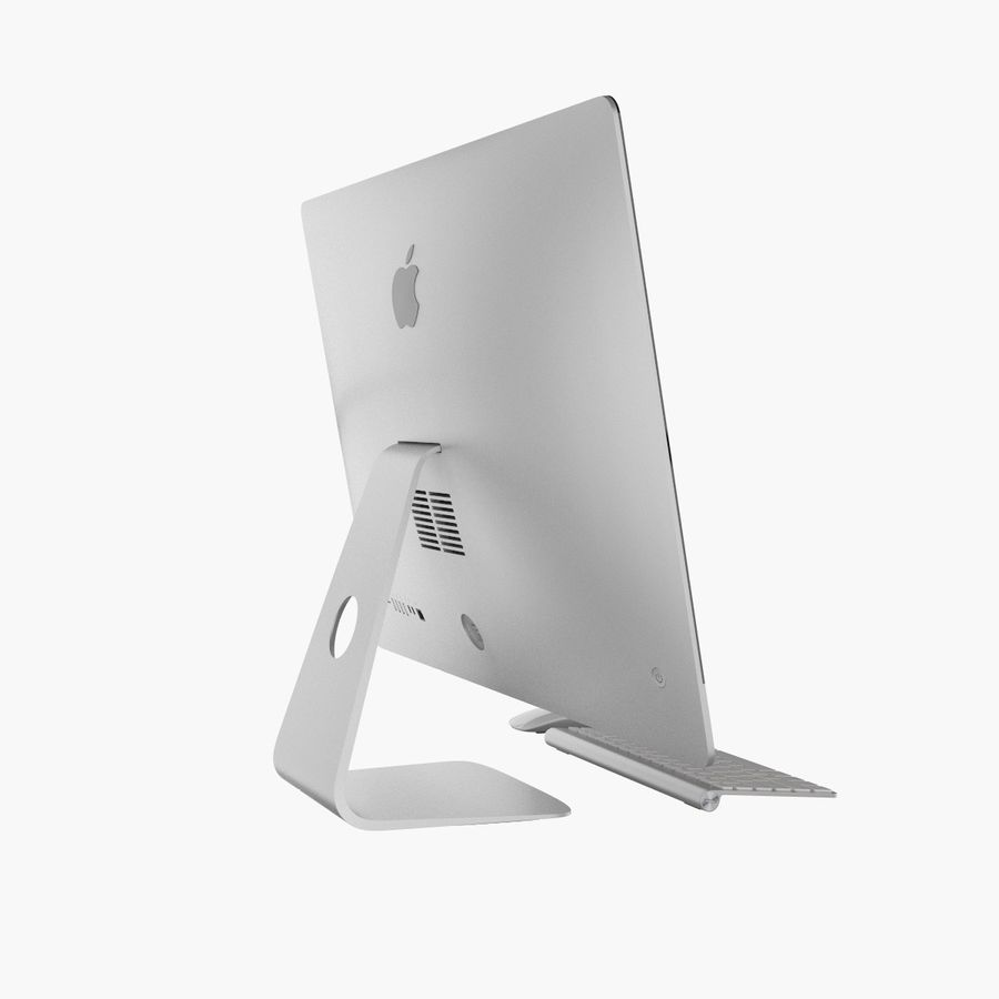 Apple iMac 27 royalty-free 3d model - Preview no. 4