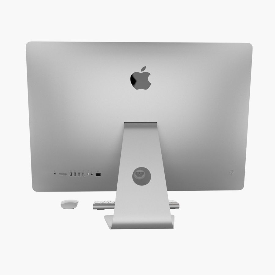 Apple iMac 27 royalty-free 3d model - Preview no. 6