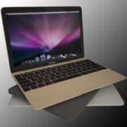 Nowy Macbook 2015 3d model