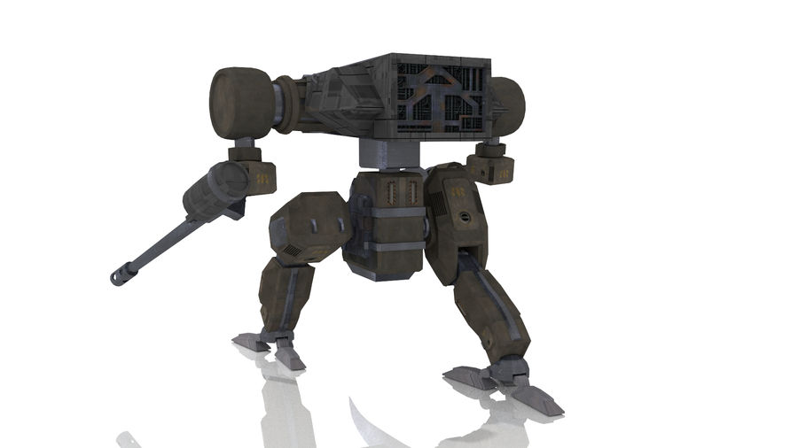 Mech royalty-free 3d model - Preview no. 3