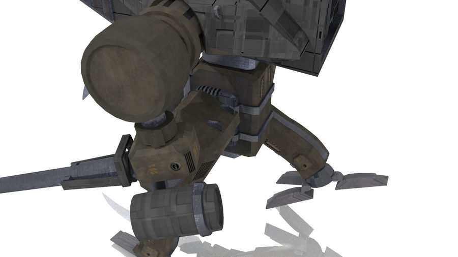 Mech royalty-free 3d model - Preview no. 7