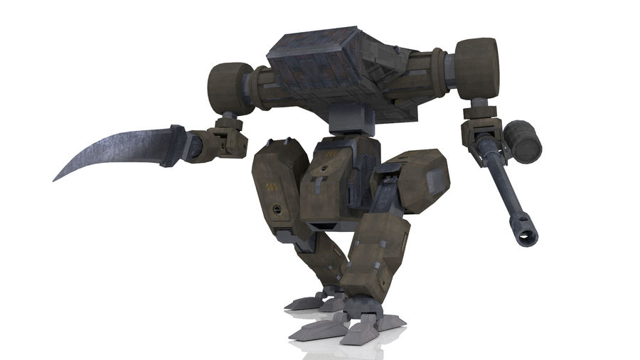 Mech royalty-free 3d model - Preview no. 1