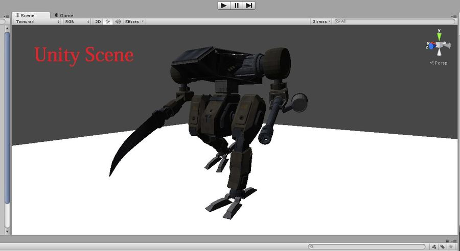 Mech royalty-free 3d model - Preview no. 8