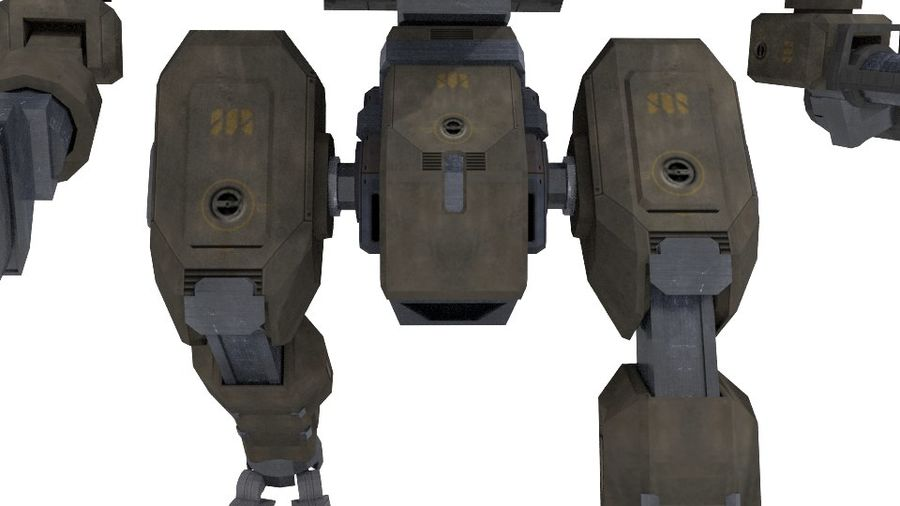 Mech royalty-free 3d model - Preview no. 5