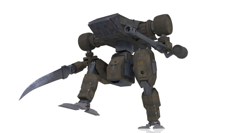 Mech royalty-free 3d model - Preview no. 4