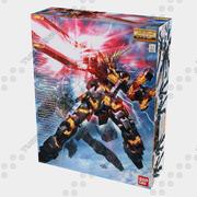 MG Unicorn Gundam Banshee (kutu) 3d model