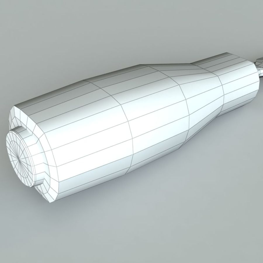 Ironside chisel royalty-free 3d model - Preview no. 6