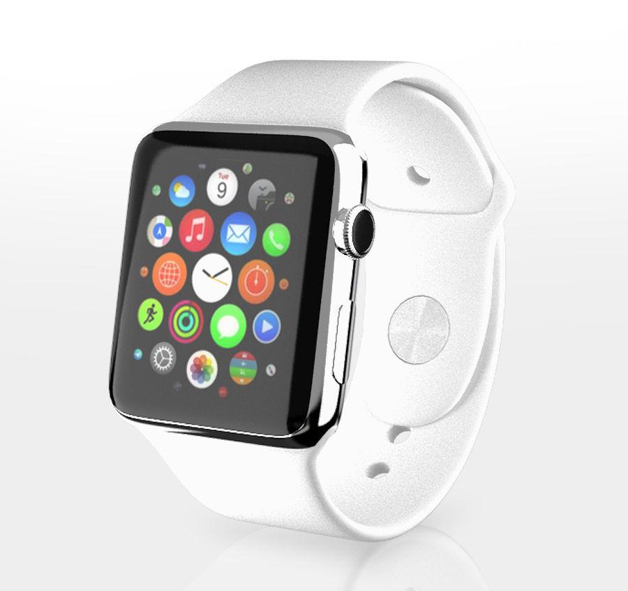 苹果手表折扣价 royalty-free 3d model - Preview no. 3