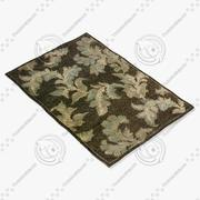 Loloi Rugs Am-02 Chocolate 3d model