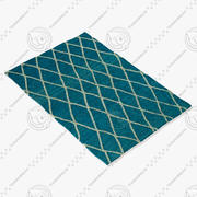 Loloi Rugs Aw-01 Azure 3d model