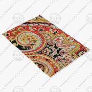 Loloi Rugs Fc-09 Red Black 3d model