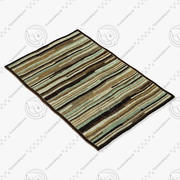 Loloi Rugs Hl-13 Blue Brown 3d model