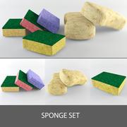 Sponge Set 3d model