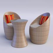 Cadeira ao ar livre 3d model