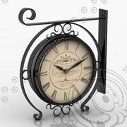 Trainstation Clock 3d model