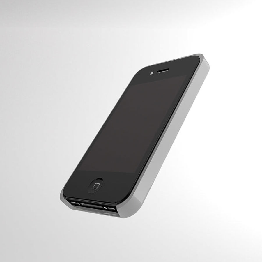 İphone kılıfı royalty-free 3d model - Preview no. 7