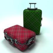 여행 가방 3d model