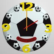 Relógio de parede 08 3d model