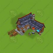 Blacksmith 3d model