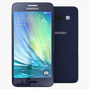 Samsung Galaxy A3 3d model