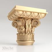 Classical capital   Kl_001 3d model